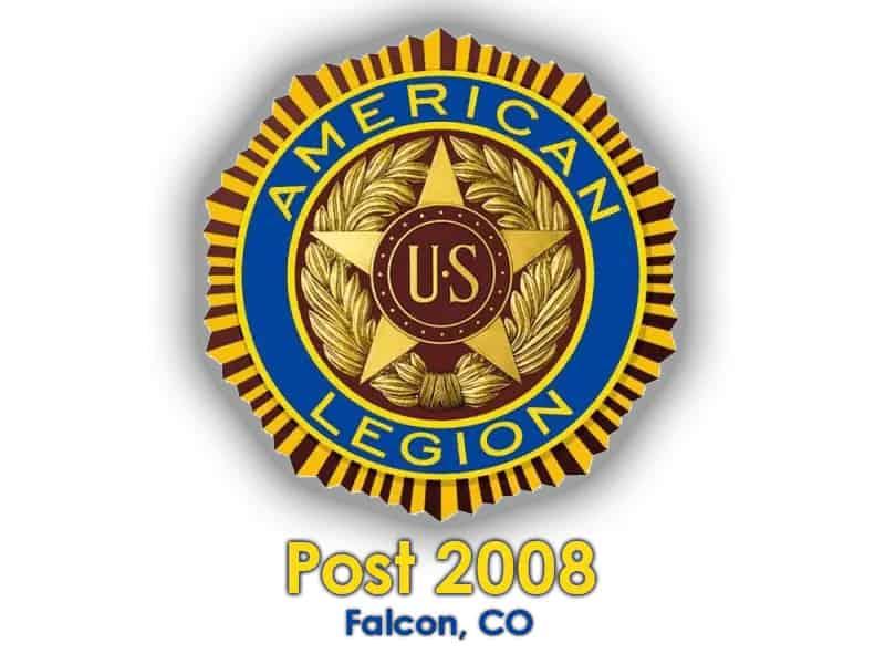 American Legion Post 2008 - Falcon, CO